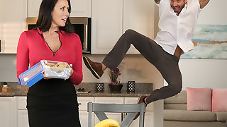 Hot Milf Reagan Foxx fucks a married man