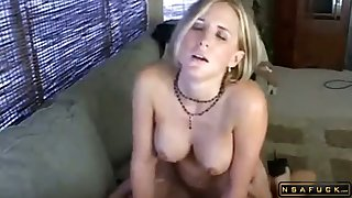Unpropitious milf caught in command