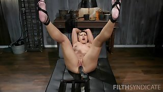 Strong fucking machine solo experience be fitting of the hot of age