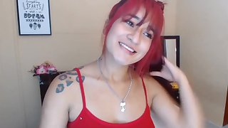 Redhead amateur webcam dissemble